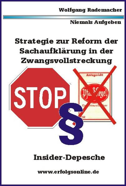 Strategie Zwangsvollstreckung 01.01.2013 - Coverbild