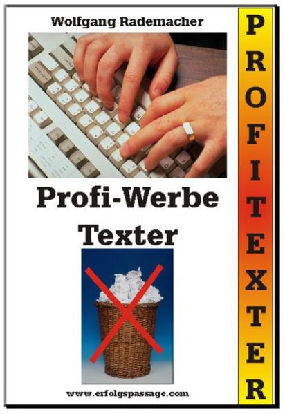 Der Profi Werbe-Texter - Coverbild