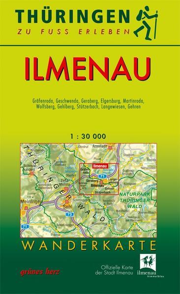 Wanderkarte Ilmenau - Coverbild
