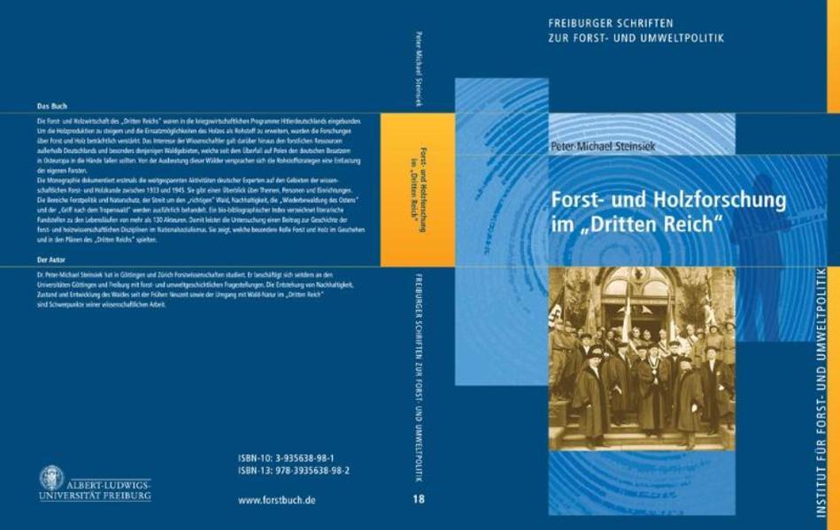 """Forst- und Holzforschung im """"Dritten Reich"""" - Coverbild"""