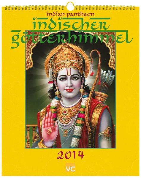 Indischer Götterhimmel 2014 - Coverbild