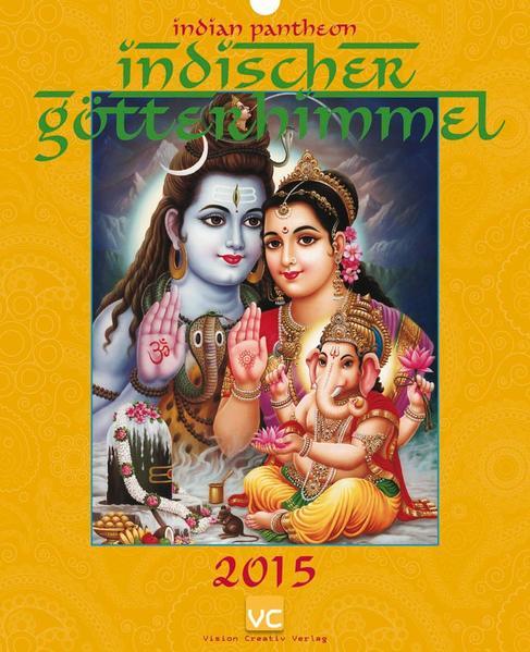 Indischer Götterhimmel 2015 - Coverbild