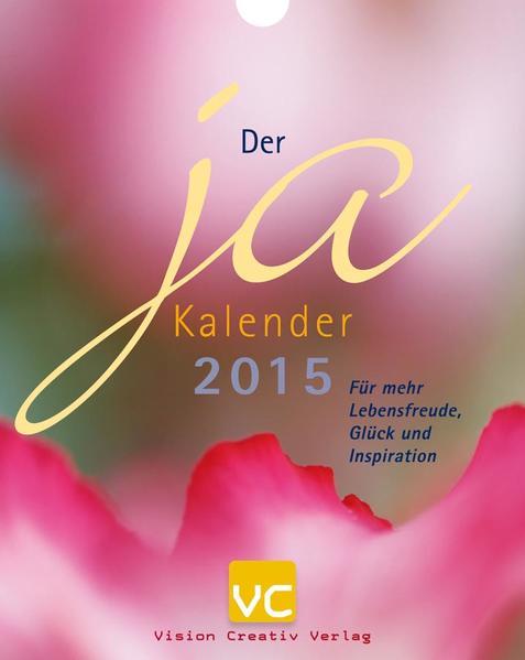 Der Ja Kalender 2015 - Coverbild