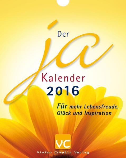 Der Ja-Kalender 2016 - Coverbild
