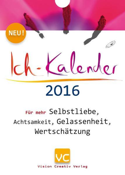 Ich-Kalender 2016 - Coverbild