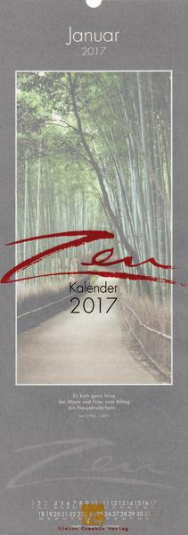 Zen-Kalender 2017 - Coverbild