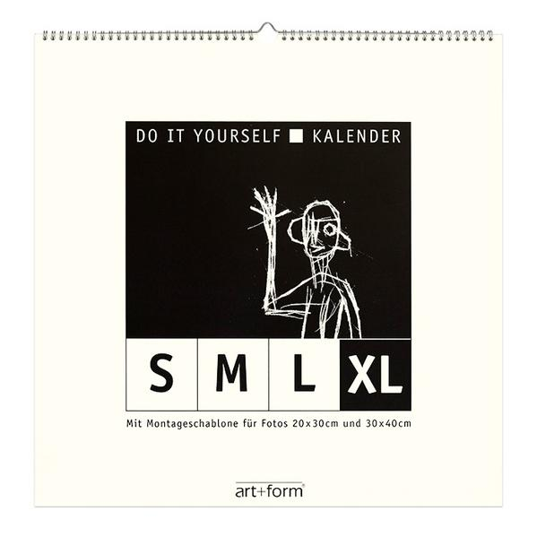 DO IT YOURSELF-KALENDER XL Natur  (48x48cm) - Coverbild