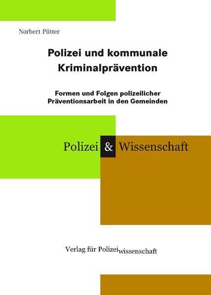 Polizei und kommunale Kriminalprävention - Coverbild