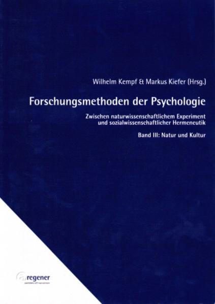 Forschungsmethoden der Psychologie / Forschungsmethoden der Psychologie - Coverbild