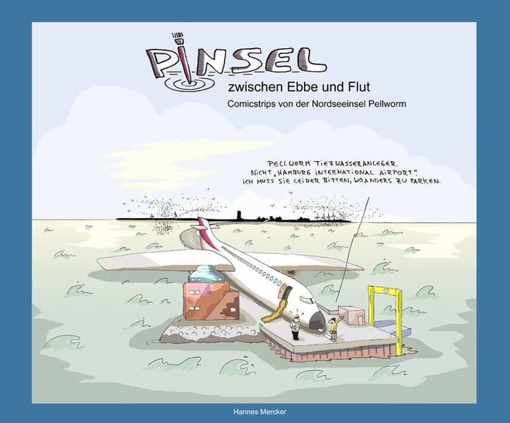 Pinsel zwischen Ebbe und Flut - Coverbild