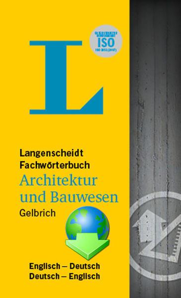 UniLex Fachwörterbuch Architektur und Bauwesen Langenscheidt - Coverbild