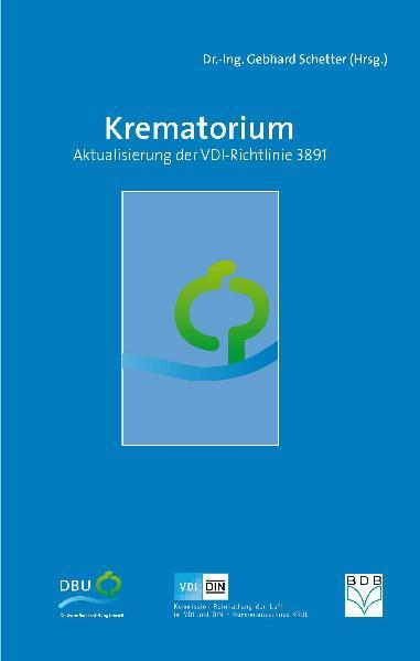 Krematorium - Aktualisierung der VDI-Richtlinie 3891 - Coverbild