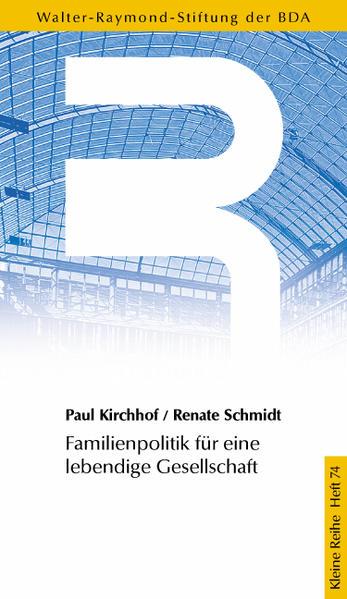 Familienpolitik für eine lebendige Gesellschaft - Coverbild