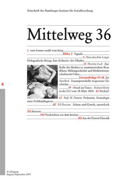 Krieg und Medien - Coverbild