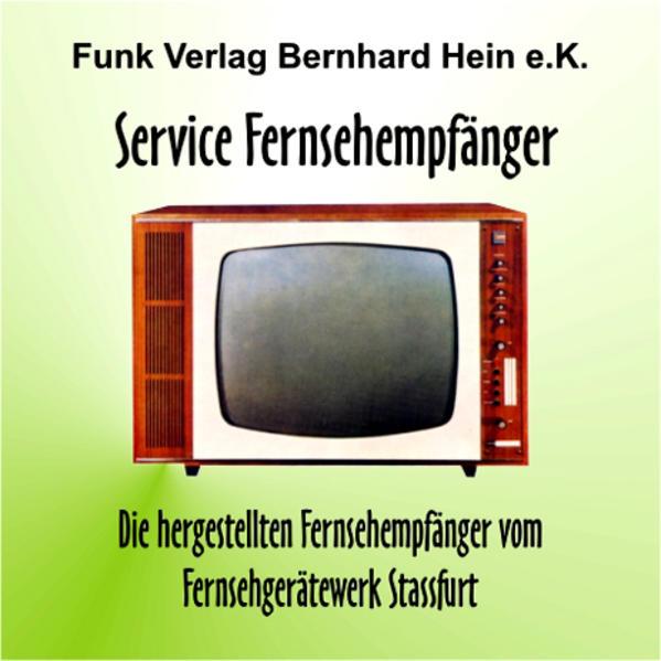 CD-ROM: Service Fernsehempfänger - Coverbild