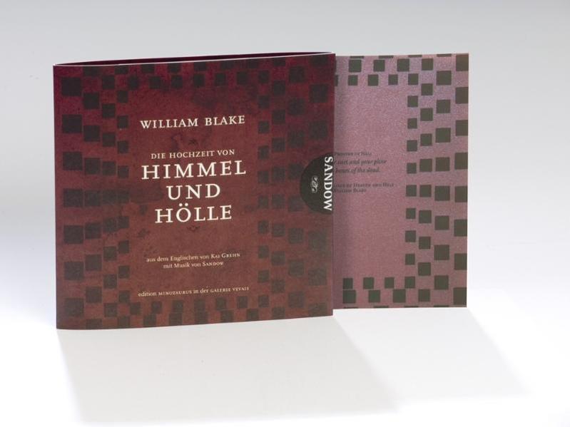 Die Hochzeit von Himmel und Hölle. Limited Edition mit Collectors Print - Coverbild