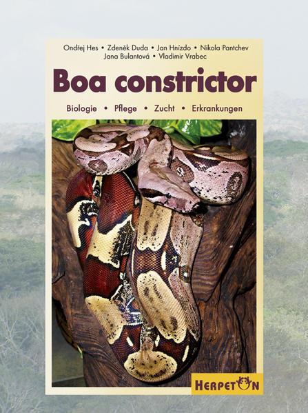 Boa constrictor - Coverbild