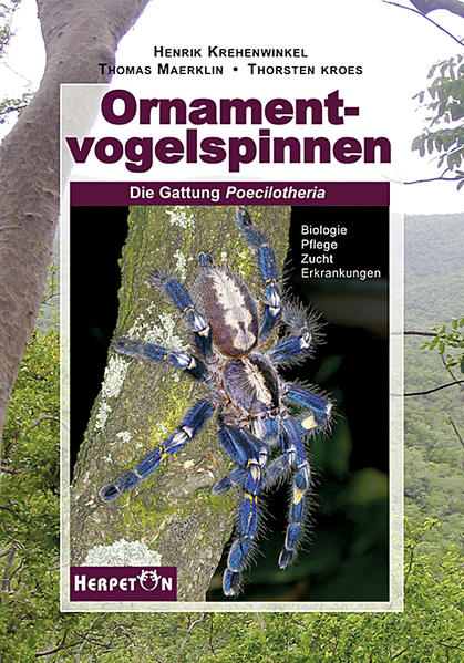 Ornamentvogelspinnen - Coverbild
