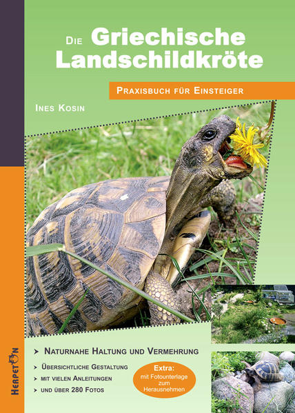 Die Griechische Landschildkröte - Coverbild