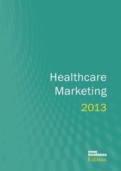 Jahrbuch Healthcare Marketing 2013 - Coverbild