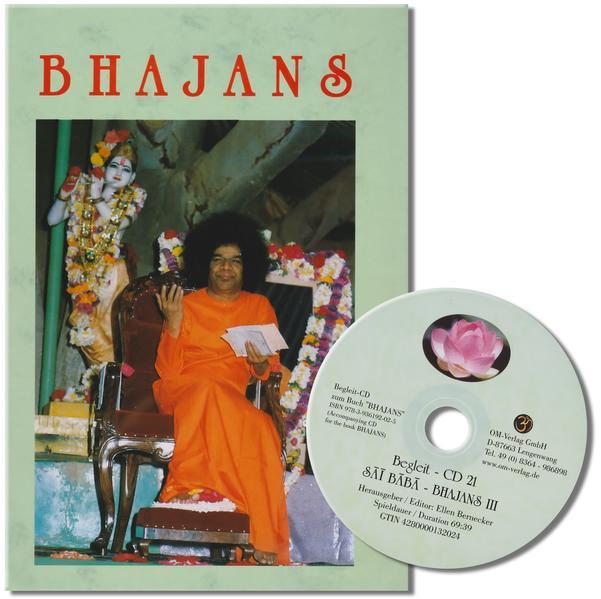 Bhajans: Buch mit 21 CDs - Coverbild