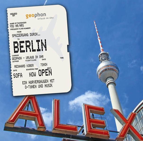 Spaziergang durch Berlin - Coverbild