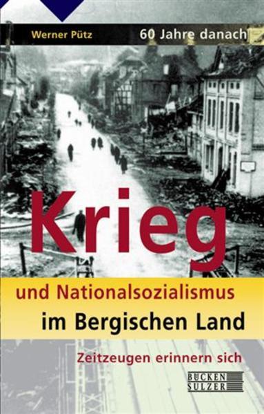 60 Jahre danach. Krieg und Nationalsozialismus im Bergischen Land - Coverbild