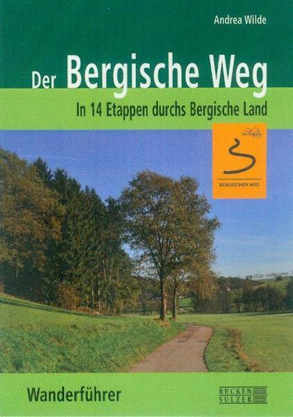 Der Bergische Weg - Wanderführer  - Coverbild