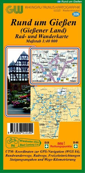 306 Rund um Gießen (Gießner Land) - Coverbild