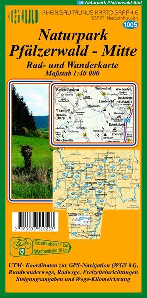 1005 Naturpark Pfälzer Wald Mitte - Coverbild
