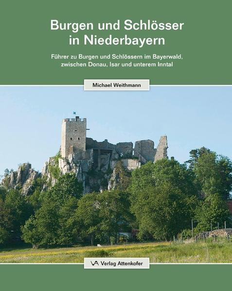 Burgen und Schlösser in Niederbayern - Coverbild