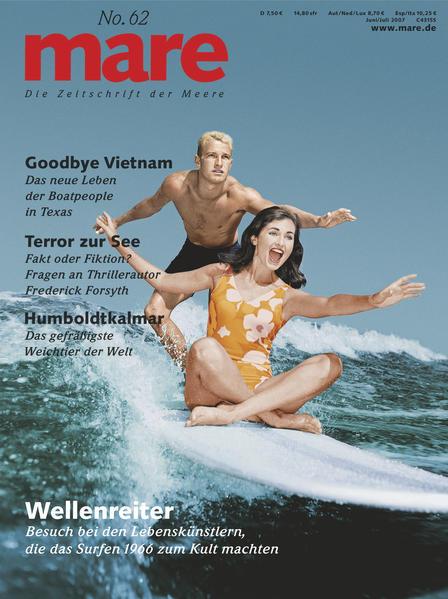 mare - Die Zeitschrift der Meere / No. 62 / Hawaii Surfing - Coverbild