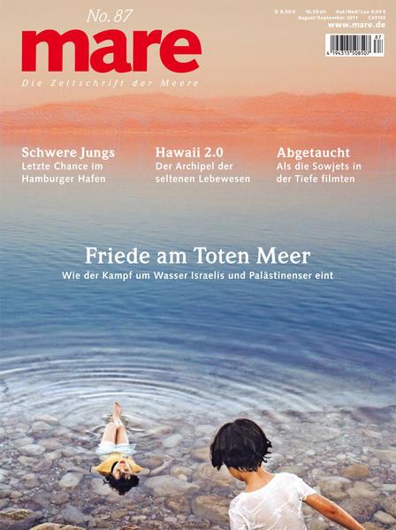 mare - die Zeitschrift der Meere / No. 87 / Friede am Toten Meer - Coverbild
