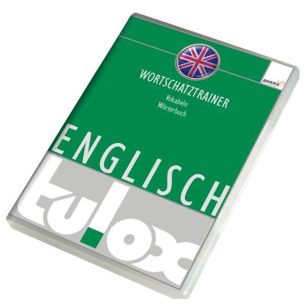 tulox Vokabeltrainer Englisch mit 20.000 vertonten Vokabeln - Coverbild