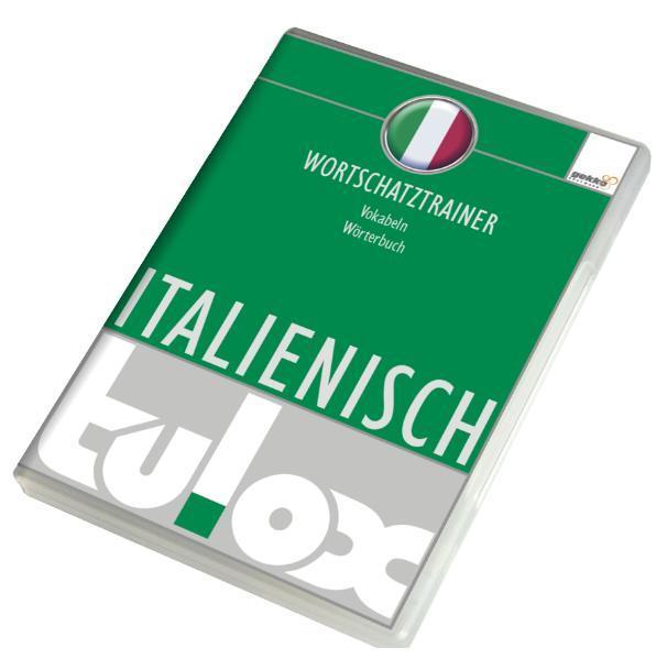 tulox Vokabeltrainer Italienisch mit 20.000 vertonten Vokabeln - Coverbild
