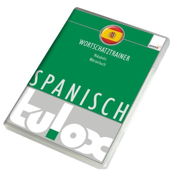 tulox Vokabeltrainer Spanisch mit 20.000 vertonten Vokabeln - Coverbild