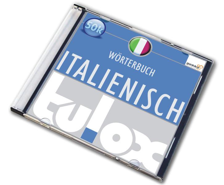 tulox e-Euro-Wörterbuch Italienisch mit 50.000 fremdsprachlich vertonten Einträgen - Coverbild