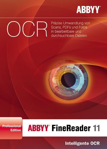 ABBYY FineReader 11 Professional Edition Deutsche Version - Coverbild