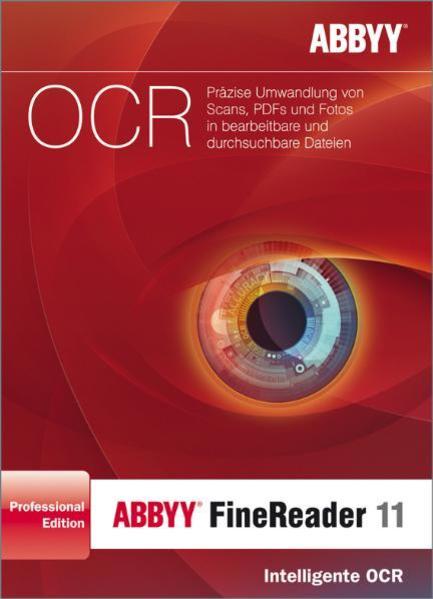 ABBYY FineReader 11 Professional Edition Deutsche Version KO - Coverbild