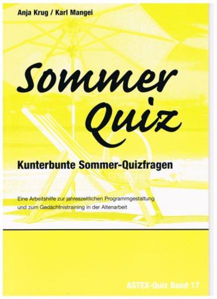 Sommer Quiz - Kunterbunte Sommer-Quizfragen - Coverbild