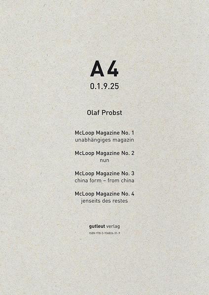 A4 0.1.9.25 - Coverbild
