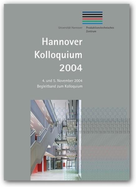 Hannover Kolloquium 2004 - Coverbild