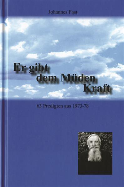 Er gibt dem Müden Kraft - Coverbild
