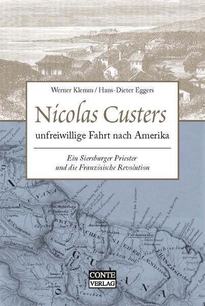 Nicolas Custers unfreiwillige Fahrt nach Amerika - Coverbild