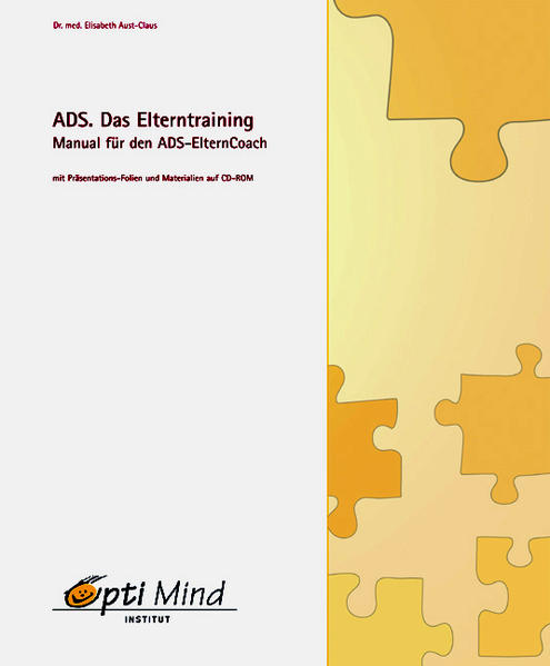 ADS. Das Elterntraining.  Manual für den ADS-ElternCoach - Coverbild