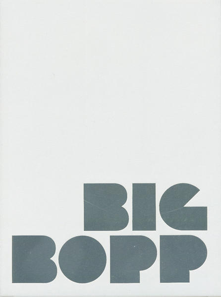 Big Bopp - Coverbild