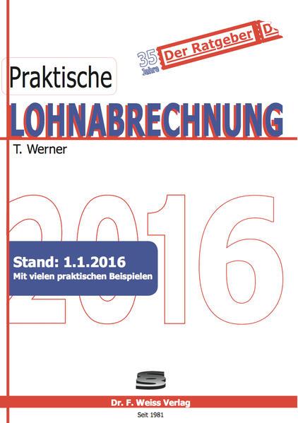 Praktische Lohnabrechnung 2016 - Coverbild