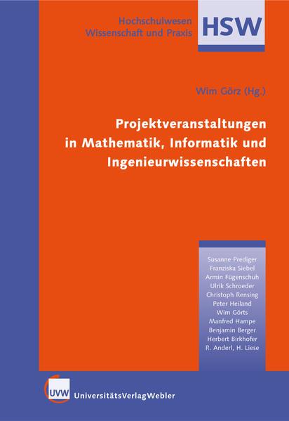 Projektveranstaltungen in Mathematik, Informatik und Ingenieurwissenschaften - Coverbild