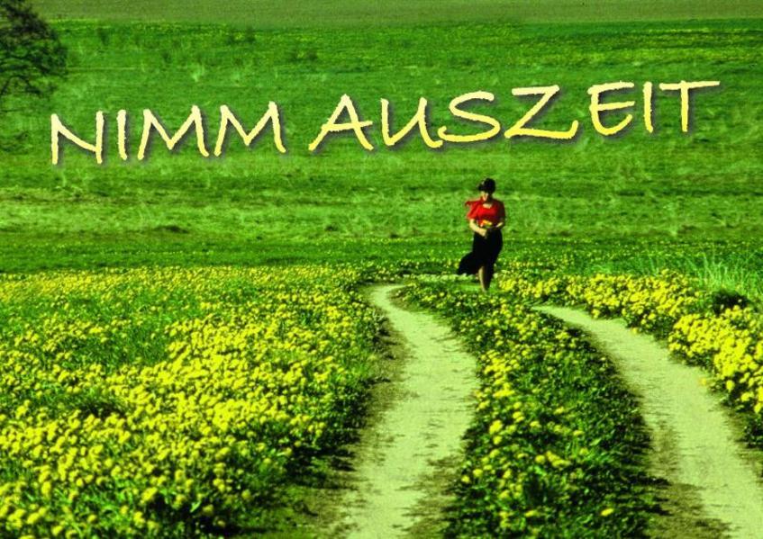 Nimm Auszeit - Coverbild