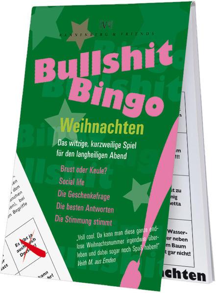 Bullshit-Bingo Weihnachten - Coverbild